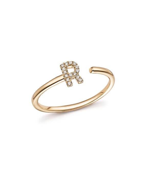 Open Cuff Rings Initial R open cuff rings Initial rings Open Cuff Rings, Initial R open cuff rings, Initial rings gold, Tiny Initial Rings, Open Cuff Rings Gold, R open cuff Rings, letter R ring - 웹