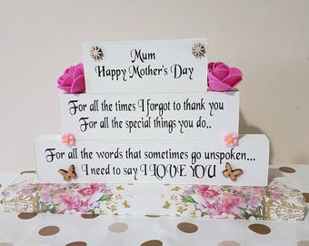 Gorgeous Wooden Blocks Mothers Day Gifts Mothers day Quotes Mothers Day Gift Ideas Mothers day flowers Mothers day Ideas Mothers Day Present