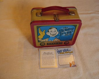 Lunch Box, Childs Lunch Box, Metal Lunch Box, Kids Lunch Box, Vintage Lunch Box, Lunch Pail