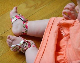 3 Flower Barefoot Sandal