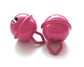 15mm dark pink Baby Bell