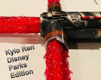 Ultimate Star Wars Red Flame Blade Lightsaber Covers for your Kylo Ren Disney Parks Edition Lightsaber