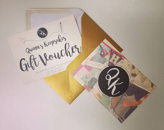 Gift Voucher - Cushion or Teddy Keepsake