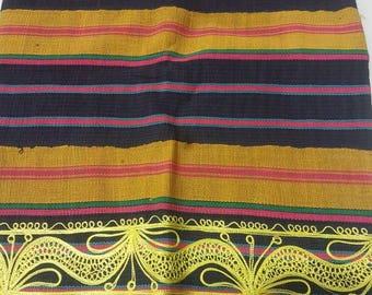 New Elegant Embroidered Yoruba Aso Oke Headtie 1Pcs