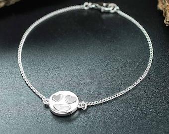 Heart Eyes Love Emoji Bracelet
