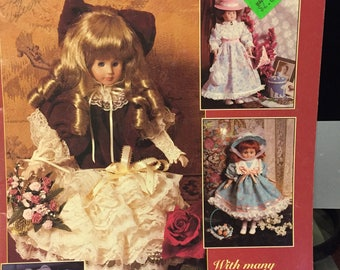 """Dolls of Distinction - Clothing Patterns for 10"""" through 16"""" porcelain-look dolls"""