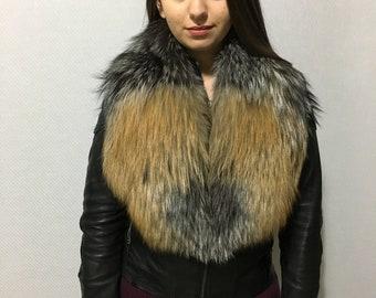 Genuine Real Gross Fox Fur Collar