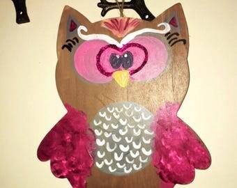 Owl Decor Wall Hanging!