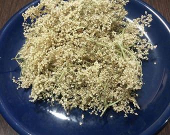 Dried Sambucus Nigra, Sambucus Nigra Flowers, Dried Elder Nigra, Elderberry Flowers, Black Elder Flowers, Elder Tea, Elder Nigra Flowers