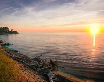 Superior Sunset at McLain Photograph