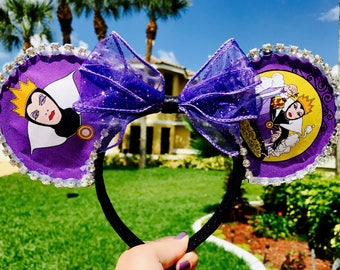 Evil Queen Disney Villain Mouse Ears