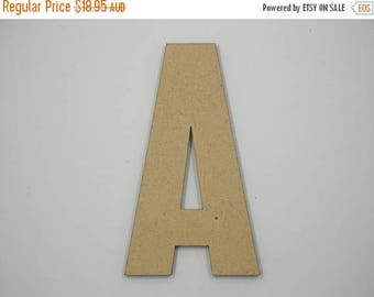 20% OFF 50cm MDF Wood Wooden Letters 3mm Thick CAP