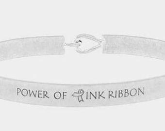 Power of pink ribbon