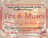 Fiver Friday Special - Tea & Muses - Scented Soy Candle Inspried by Strange the Dreamer