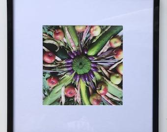 FOOD PHOTOGRAPHY PRINT - farmers market produce art - kitchen art - fine art print
