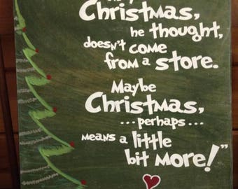 The grinch quote   Etsy