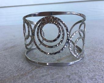 Multi-Circle Cuff Bracelet