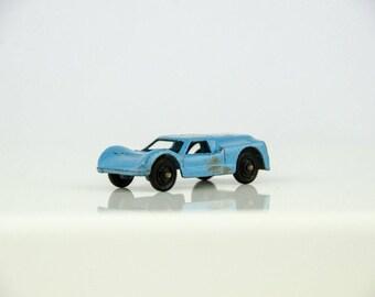 Vintage Tootsietoy Ford G.T. Blue Diecast Metal Car