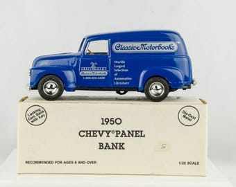 Ertl 1950 Panel Truck Diecast Bank 1/25 Scale Classic Motorbooks