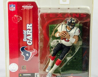 McFarlane's Sportspicks Series 7 David Carr Action Figure Houston Texans