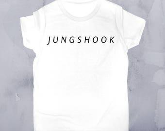 BTS-inspired JUNGKOOK T-Shirt