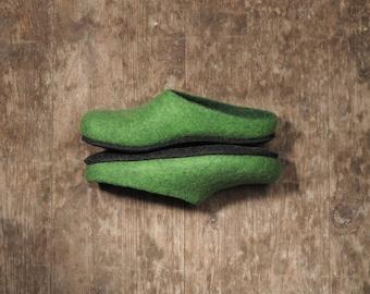 handmade home shoes,  felt slippers, style