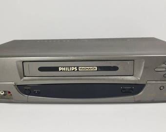 Philips Magnavox VRA633AT21 VCR Player VHS Recorder