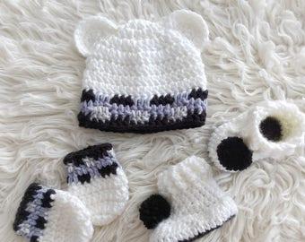 Polar Bear newborn baby bundle
