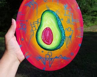 Avocado Acrylic Painting
