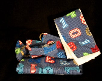 Breast feeding cover-up hooter hider burp cloth rag cotton modest blue boy girl new mother washable on-the-go-mom light weight