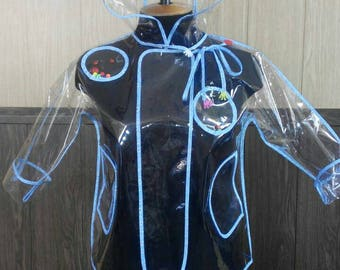Silicon raincoat will protect Your child in windy and rainy days.