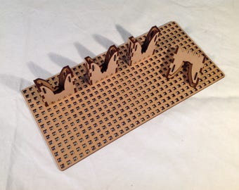 LaunchPad Pegboard, for X-Case clips and Hangers
