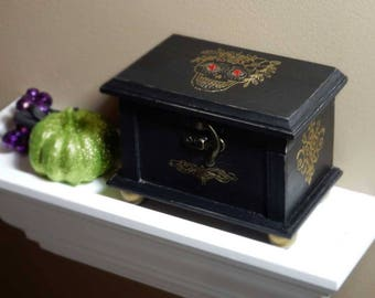 Day of the Dead, Wooden Keepsake Box