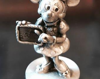 Minnie Mouse Pewter Figurine