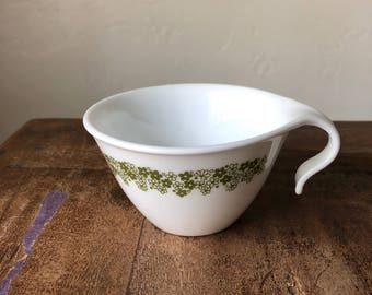 VINTAGE Corelle Spring Blossom / Crazy Daisy Open Hook Coffee/Tea Cup