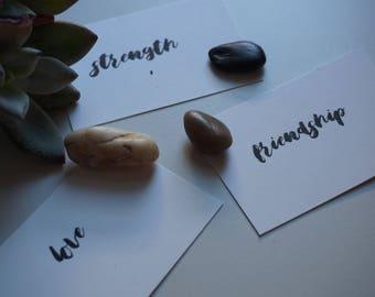 Intention- Insight Cards Deck (SCRIPT)