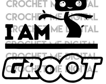 Groot Guardians of the Galaxy Nerd Geeky Save a Tree Silhouette Cutting Cut File SVG, STUDIO3, PNG Bundle Instant Download