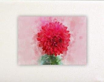 Flowers - Watercolor prints, watercolor posters, nursery decor, nursery wall art, wall decor, wall prints | Tropparoba 100% made Italy