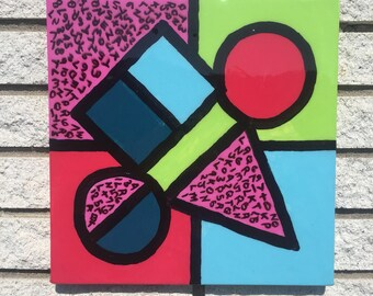 "12""x12"" Acrlic on Canvas"