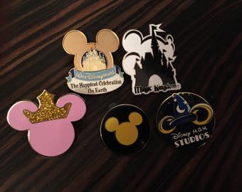 Assorted Disney Trading Pins