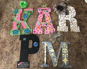 Custom Made Wall Letters