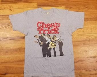 Vinatge 80s 83 84 Cheap Trick Concert Tour Rock Shirt Rare Next Position Please Size Large L