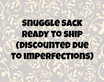 Imperfect* ready to ship snuggle sack with removable absorbent pad for guinea pigs, rats, chinchillas, and other small animal cages