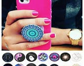 Pop socket mobile phone holding device accessories iPhone Samsung android apple