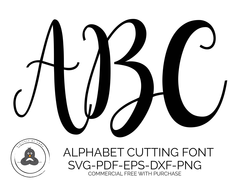 Download SVG Fonts, Hand Lettered SVG, Wedding Font SVG Fonts for ...