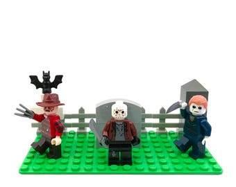 Jason's Halloween Nightmare Custom Lego Compatible Set