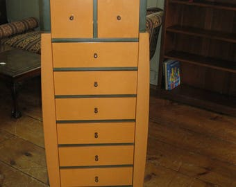 lingerie chest modern style with nine drawers
