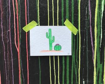 Cacti Watercolor