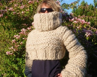 Mohair sweater pullover