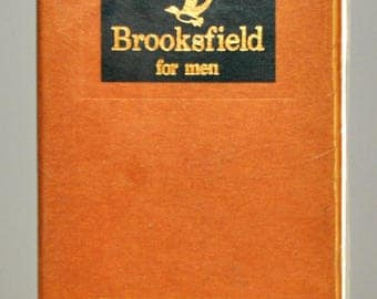 Brooksfield For Men Eau De Toilette Edt 25ML 0,84 Fl. Oz. Spray Man Rare Vintage Old 1993